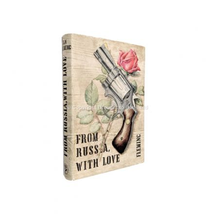From Russia With Love by Ian Fleming First Edition First Impression Jonathan Cape 1957